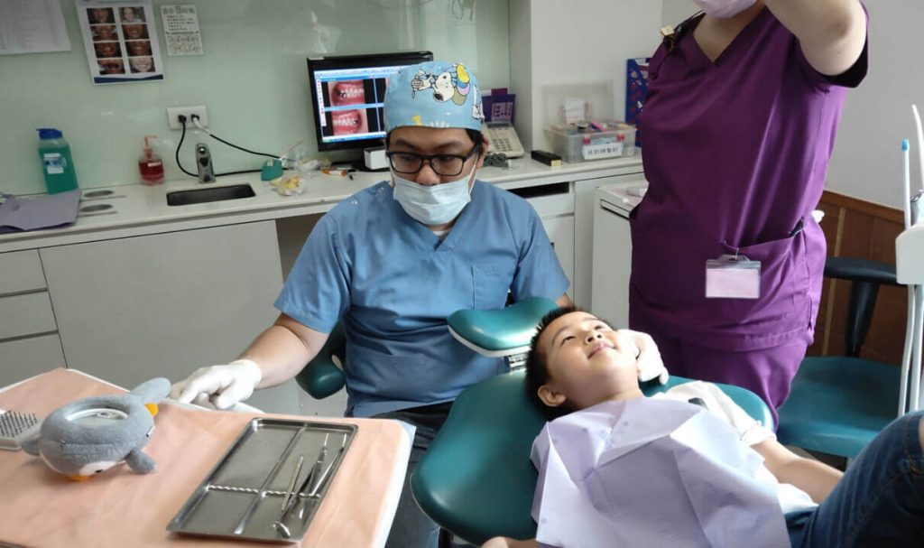新當代檢查病患過程
